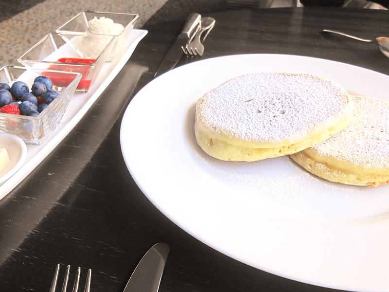 グランドハイアット東京 フレンチキッチンでパンケーキ