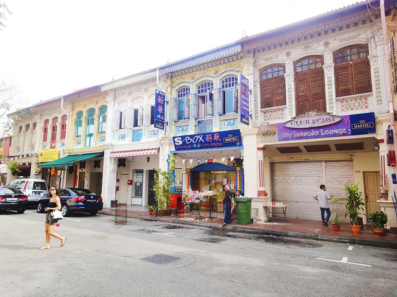 色鮮やかなプラナカン文化の街:Katong(カトン)散策(1)カトンへの行き方