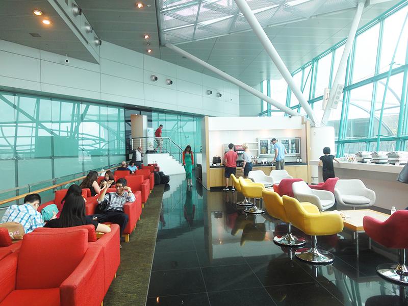 シンガポールチャンギ国際空港 Terminal 1:Sky View Lounge(スカイビューラウンジ)