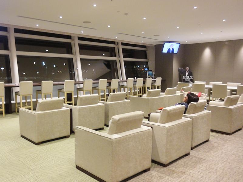 羽田空港国際線ターミナル「Sky Lounge A」