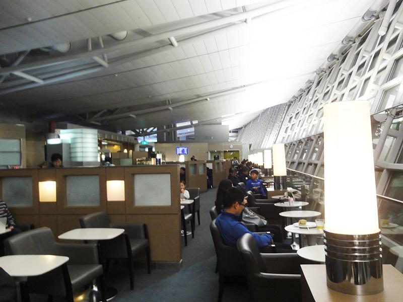 韓国 インチョン空港 KAL Lounge