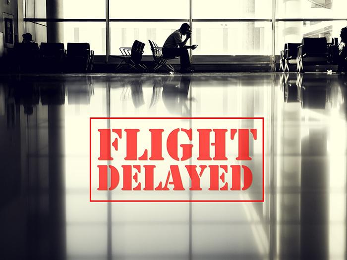 フライト 遅延