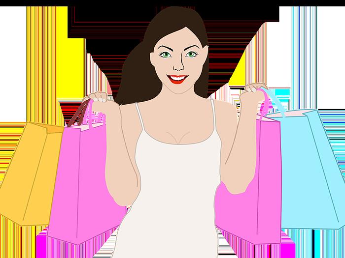 女性 ショッピング