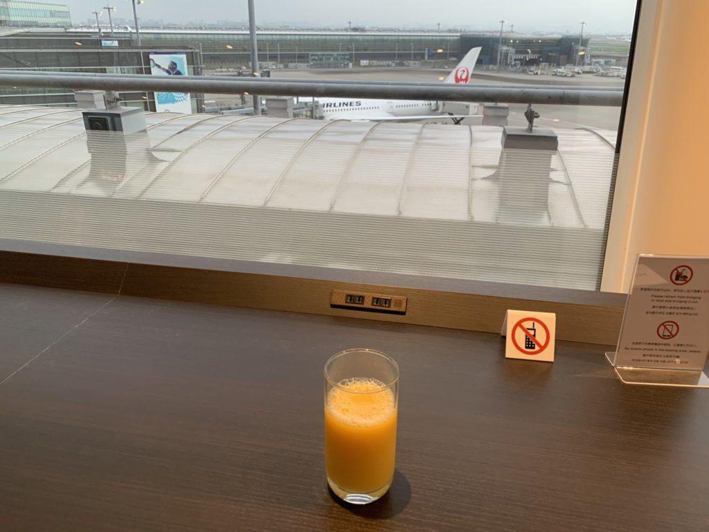 羽田空港スカイラウンジ