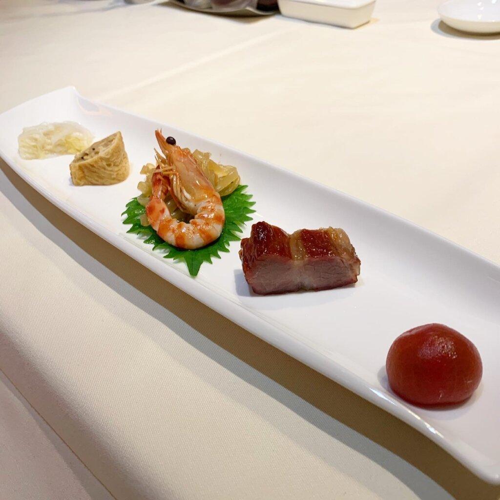 ホテルニューオータニ東京「大観苑」で中華料理ディナー