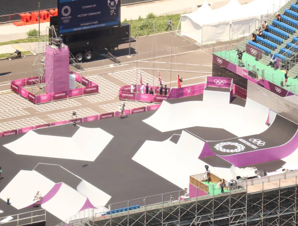 東京オリンピックBMXフリースタイル男子パーク決勝
