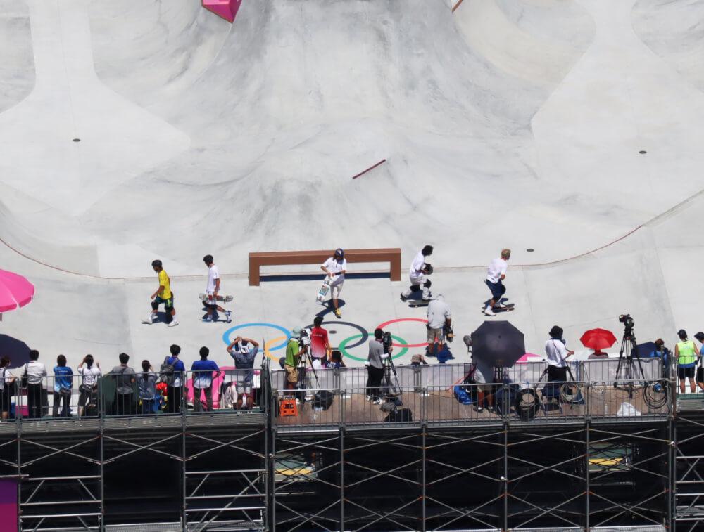 東京オリンピックスケートボード男子パーク決勝&表彰式 Tokyo Olympic Skateboarding Men's Park Final & Winning Ceremony